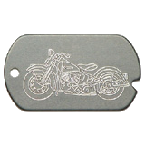 Harley Military Dog Tag