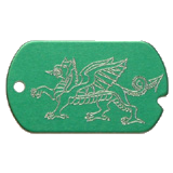 Dragon Military Dog Tag