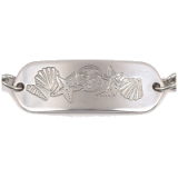 Stainless Steel Seashells Child ID Bracelet