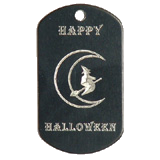 Aluminum Black Witch Halloween Idea