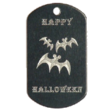 Aluminum Black Bats Halloween Idea