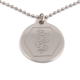 Stainless Steel Medical ID Necklace
