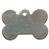 Stainless Steel Large Bone Pet ID