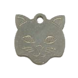 Stainless Steel Large Cat Pet ID