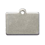 Stainless Steel Rectangle Pet Tag
