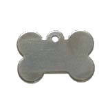 Stainless Steel Small Bone Pet ID