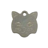 Stainless Steel Small Cat Pet Tag