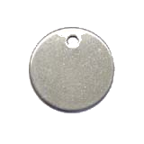 Stainless Steel Circle Pet ID