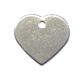 Stainless Steel Heart Pet ID